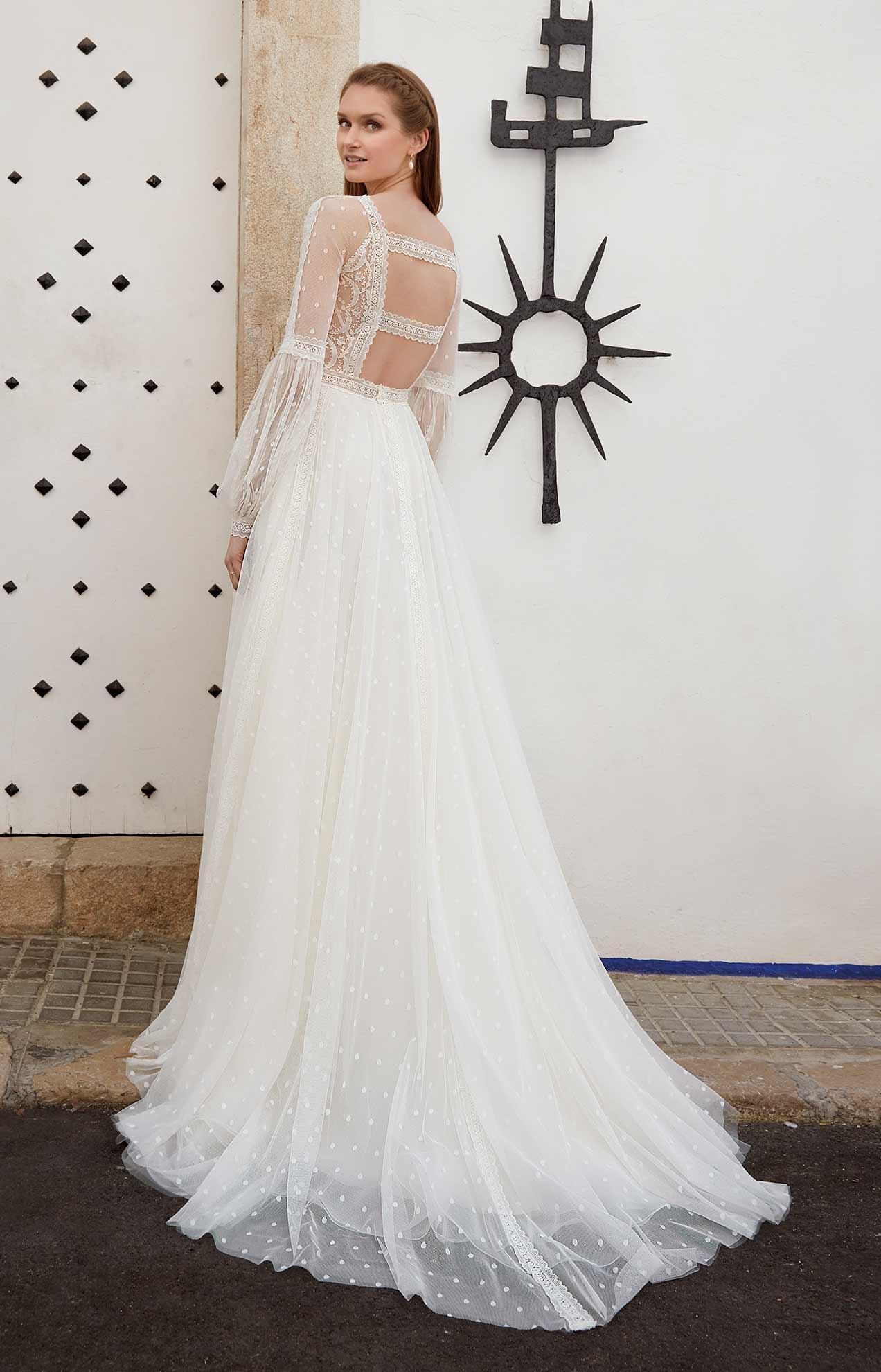 vestido novia romantico en valencia
